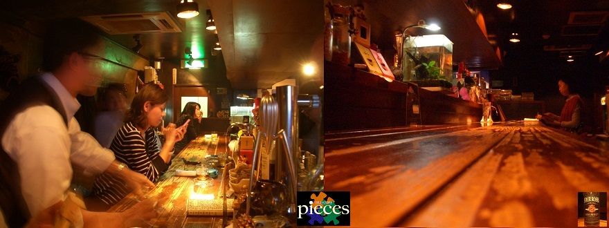 池袋 THE SHOT BAR pieces